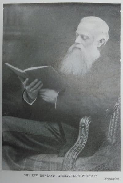 R. Maconachie, Rowland Bateman. Nineteenth Century Apostle