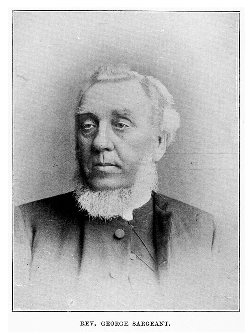 Rev William Sargeant (Frontispiece)