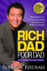 Rich Dad Poor Dad - Book Title