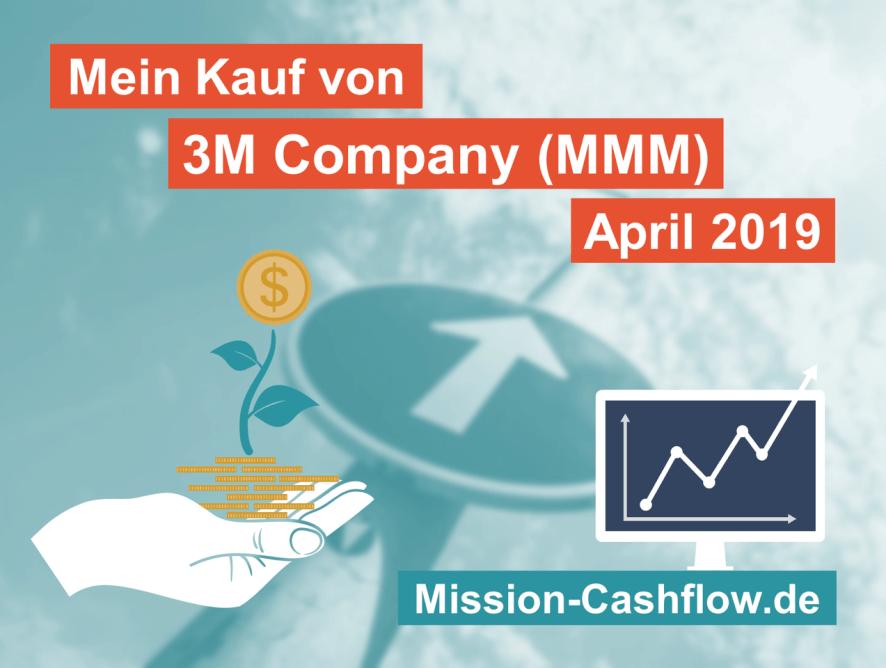 April 2019: Kauf von 3M Company (MMM)