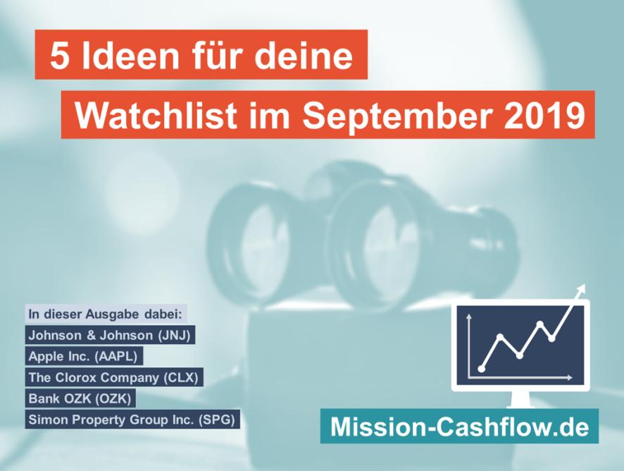 5 Ideen für deine Watchlist im September 2019