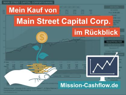 Im Rückspiegel: Mein Kauf von Main Street Capital