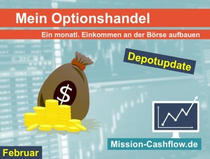 Februar 2020: Mein monatliches Einkommen durch den Optionshandel