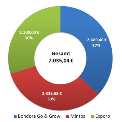 Passives Einkommen mit P2P - P2P Portfolio Übersicht 2020