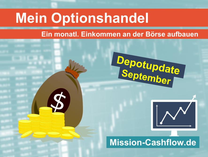 September 2020: Mein monatliches Einkommen durch den Optionshandel