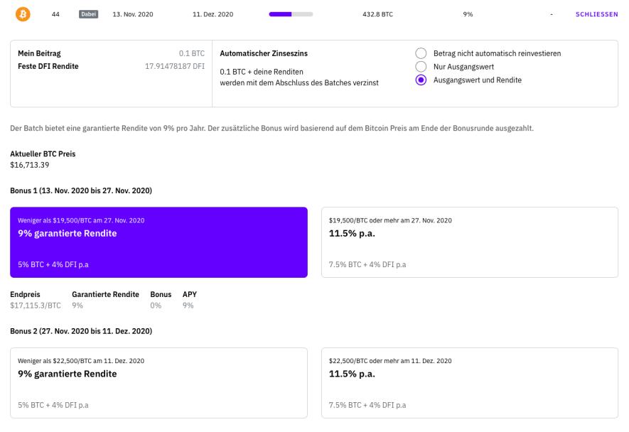 Bitcoin kaufen in 2020 - Cakedefi App 3