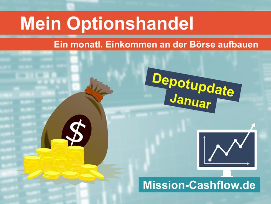 Januar 2021: Mein monatliches Einkommen durch den Optionshandel