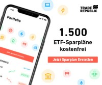 Trade Republic - 1.500 ETFs besparen
