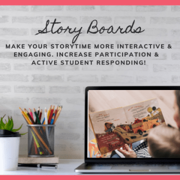 Story Boards (Interactive Storytime)