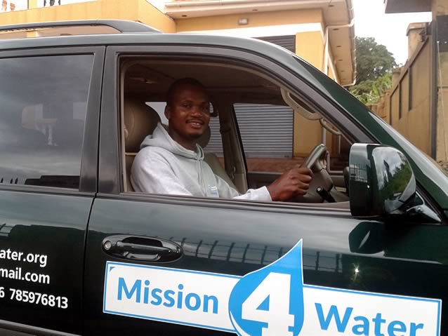 New car for mission 4 water which will help us dig more water wells in Uganda