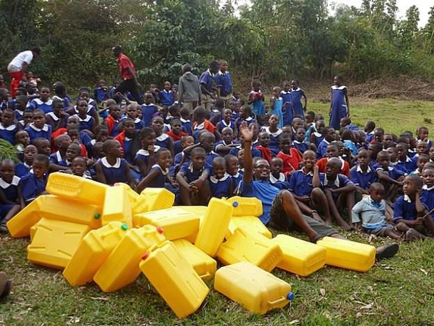 The school children