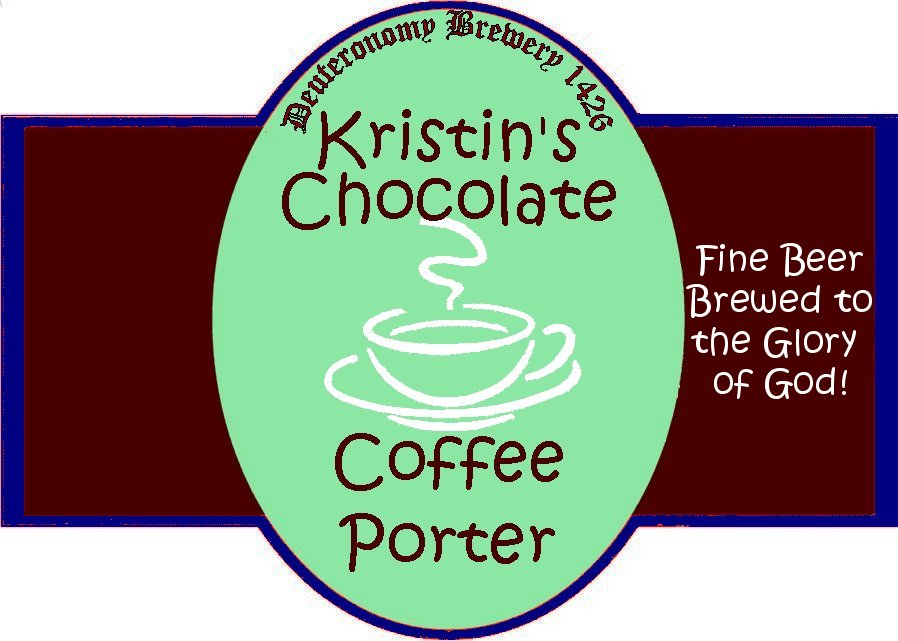 Kristin's Chocolate Coffee Porter (Extract)