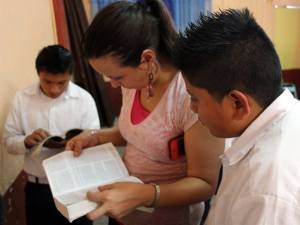 VBS at school in Guatemala