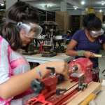 Woodworking classes for orphans