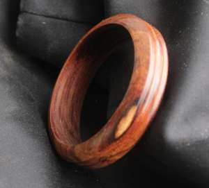 Bracelet made from Iron Wood in our workshop