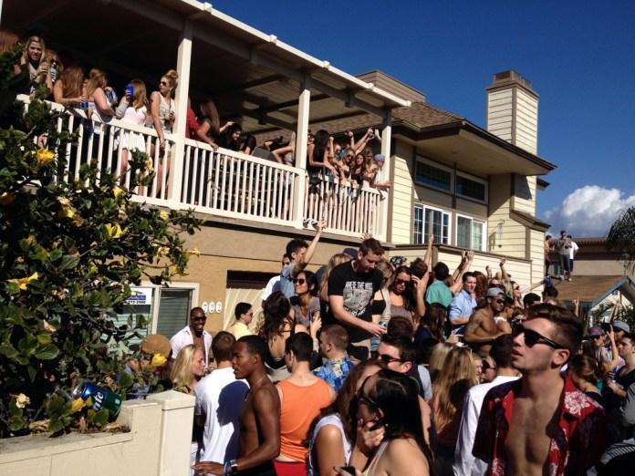 Jamaica Court Block Party Mission Beach