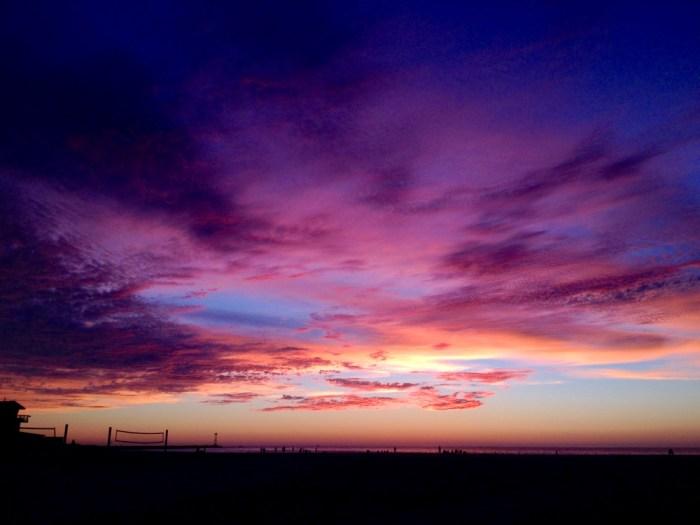 Sunset Mission Beach Winter 2014