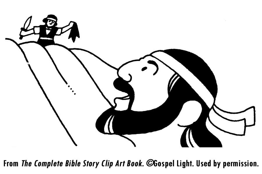 David Spares Saul Coloring Page Coloring Pages