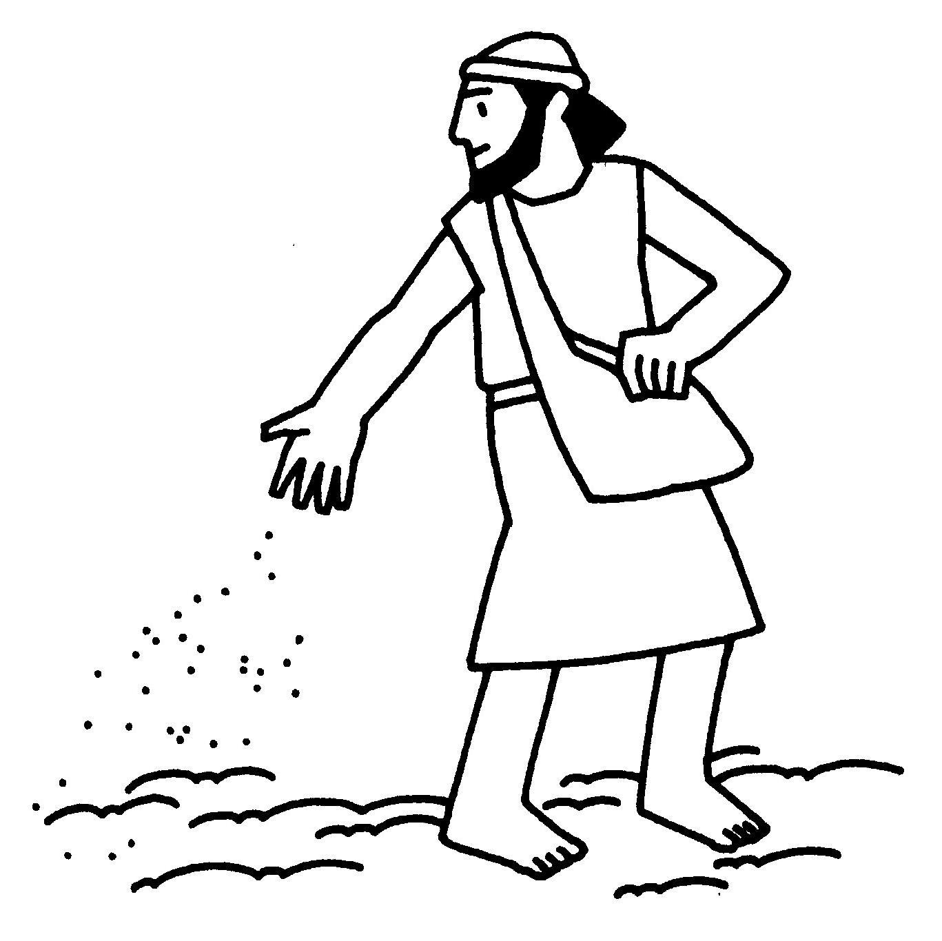 Parable Of A Sower And Seeds