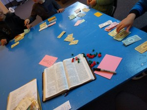 Ananias and Sapphira activity