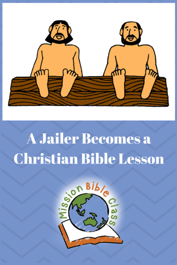 A Jailer Becomes a Christian Pin