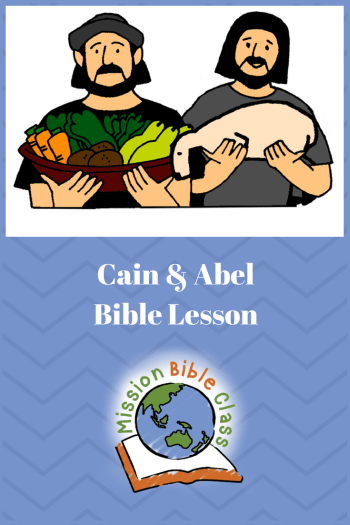 picture relating to Free Printable Bible Study Lessons With Questions and Answers named Cain and Abel Mission Bible Cl