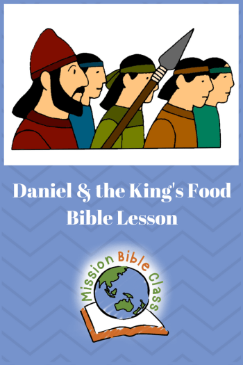 Daniel and the King_s Food Pin