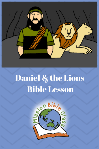 Daniel and the Lions Pin