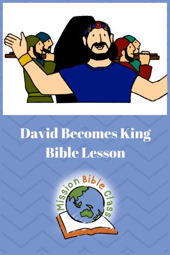 David Becomes King Pin