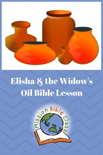 Elisha and the Widow_s Oil Pin