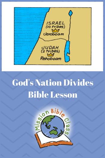 God_s Nation Divides Pin