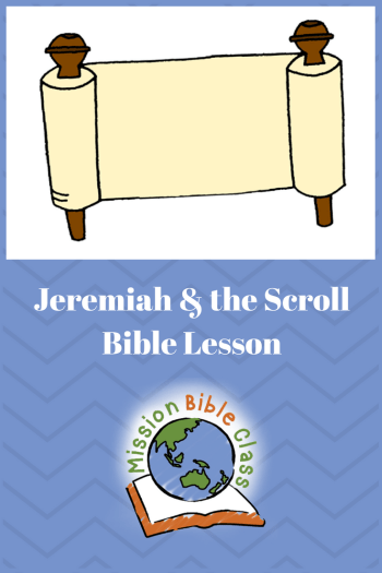 Jeremiah and the Scroll Pin