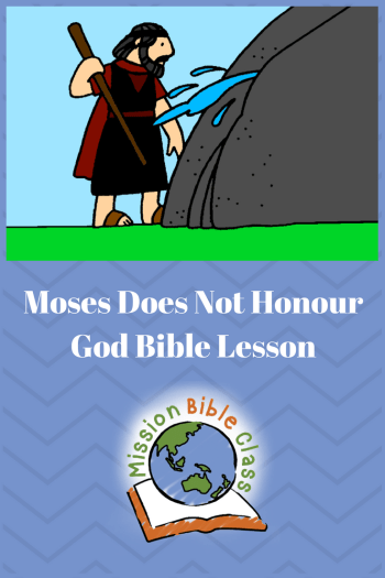 Moses Does Not Honour God Pin