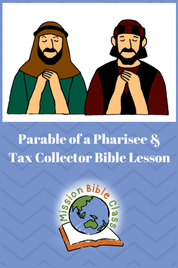 Parable of a Pharisee and a Tax Collector Pin