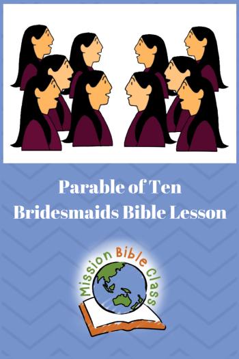 Parable of the Ten Bridesmaids Pin