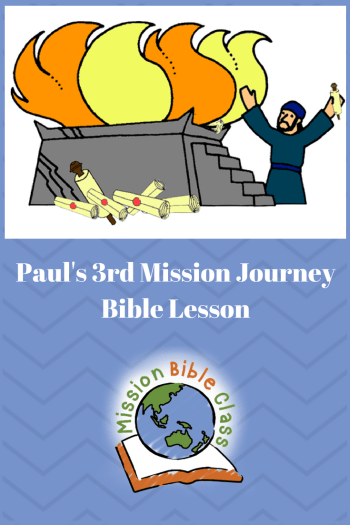 Paul_s Third Missionary Journey- in Ephesus Pin