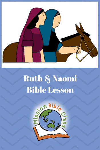 Ruth and Naomi Pin