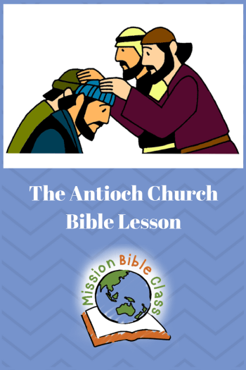 The Antioch Church Pin