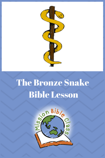 Bronze Snake On A Pole Mission Bible Class