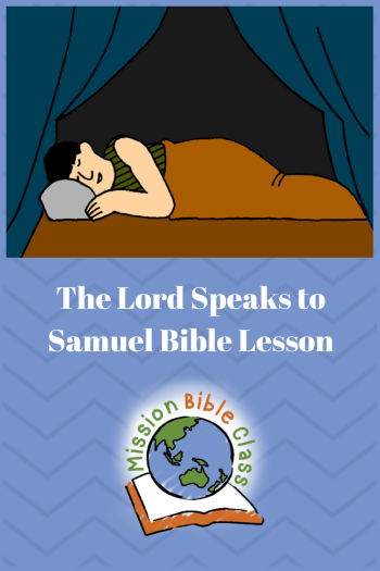 The Lord Speaks to Samuel Pin