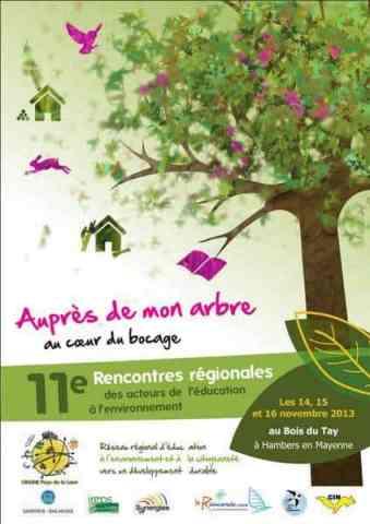 11e rencontres arbres éducation environnement