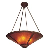 Mica Lamp Co Grand Mesa Pendant