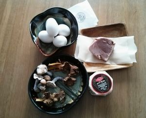 oeufs jambon champignons fromage