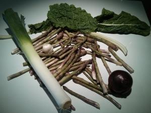 asperge pour potage
