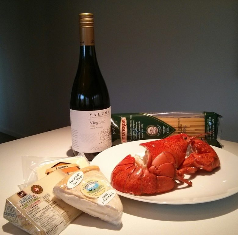 mac & cheese Lobster Project