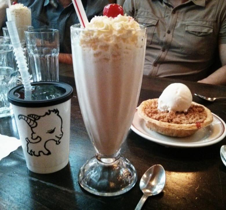 classic milk shake
