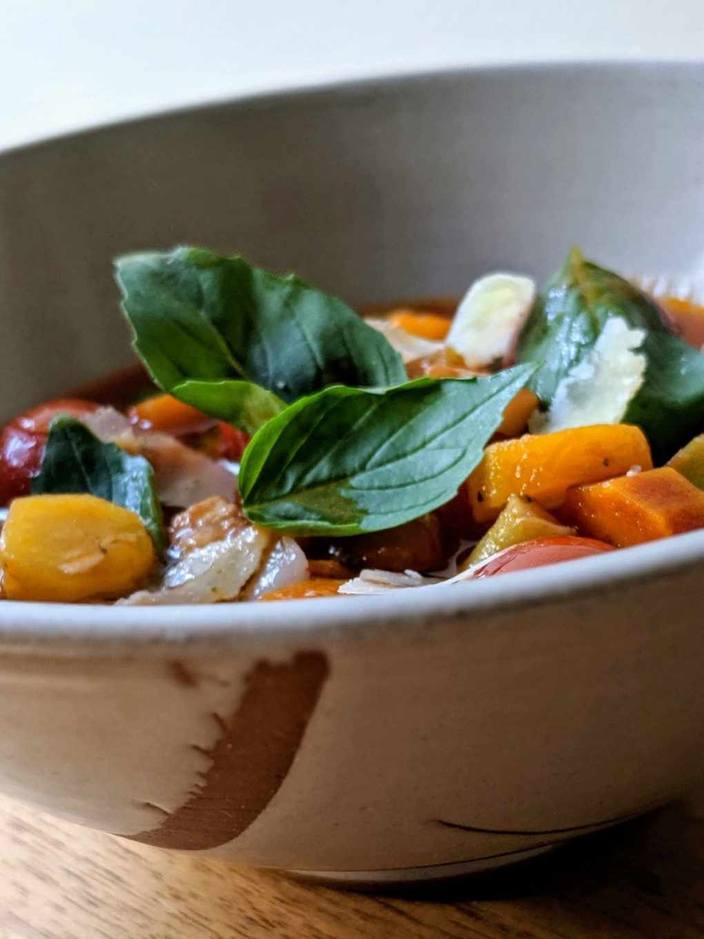 soupe minestrone Daniel Pinard