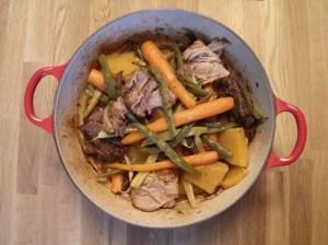 bouilli de légumes