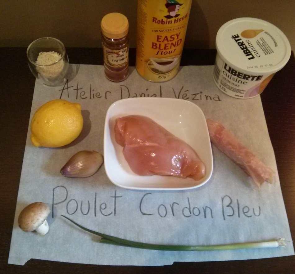 ingrédients cordon bleu hiver