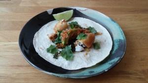 tacos lime avocado poisson